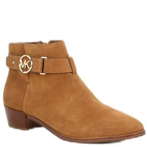 Michael Kors Leather Suede Bootie NEW Size 8.5